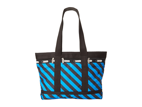 LeSportsac Luggage - Medium Travel Tote (Ace Stripe) Tote Handbags
