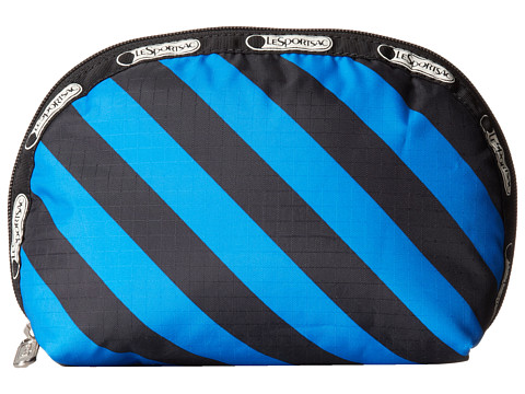 LeSportsac - Medium Dome Cosmetic (Ace Stripe) Cosmetic Case