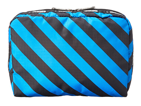 LeSportsac Luggage - Extra Large Rect And Square Cosmetic Combo (Ace Stripe) Cosmetic Case