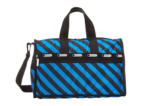 LeSportsac Luggage - Medium Weekender (Ace Stripe) Weekender/Overnight Luggage