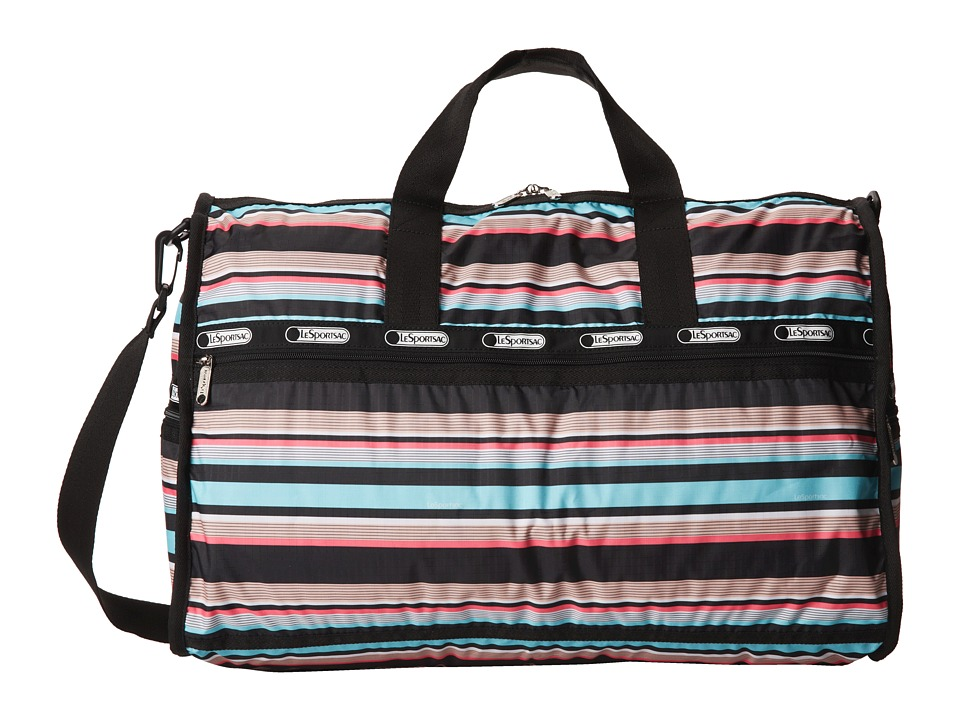 LeSportsac Luggage - Large Weekender (Tennis Stripe) Duffel Bags