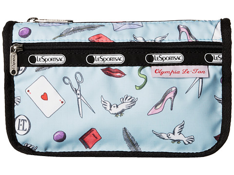 LeSportsac - Travel Cosmetic (Love Letters Blue) Cosmetic Case