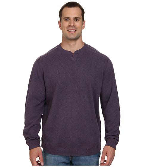 Tommy Bahama Big & Tall - Big Tall New Flip Side Pro Reversible Abaco Sweatshirt (Cabaret Heather) Men