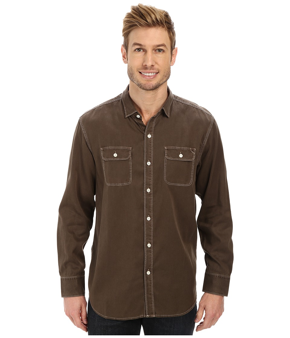 Tommy Bahama Denim - Twill Factor L/S (Newt) Men's Clothing