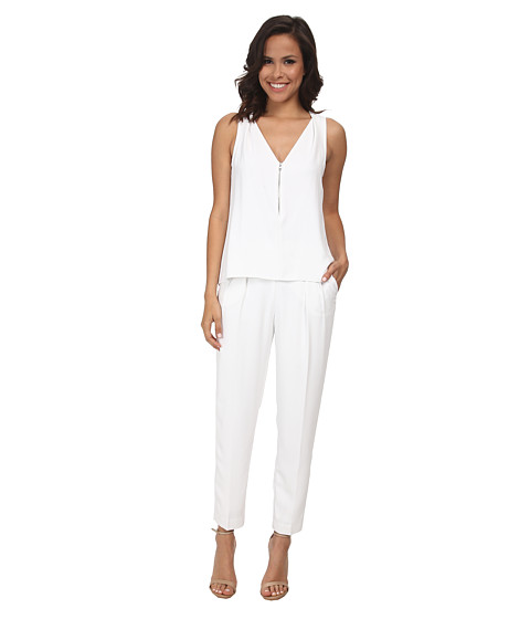 Trina Turk - Banning Jumpsuit (White) Women's Jumpsuit & Rompers One Piece