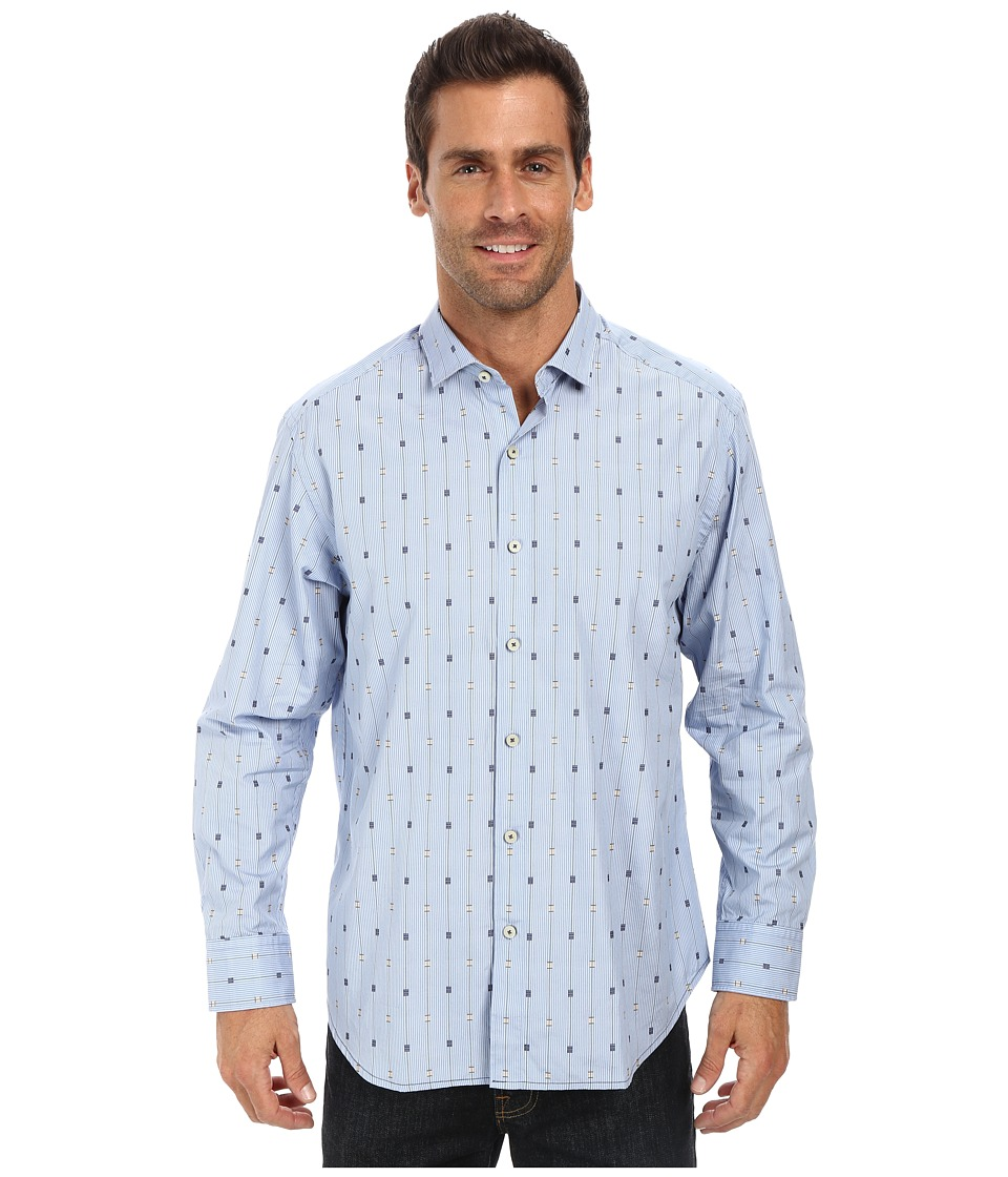 Tommy Bahama - Cayman Clipper Shirt (Light Sky) Men