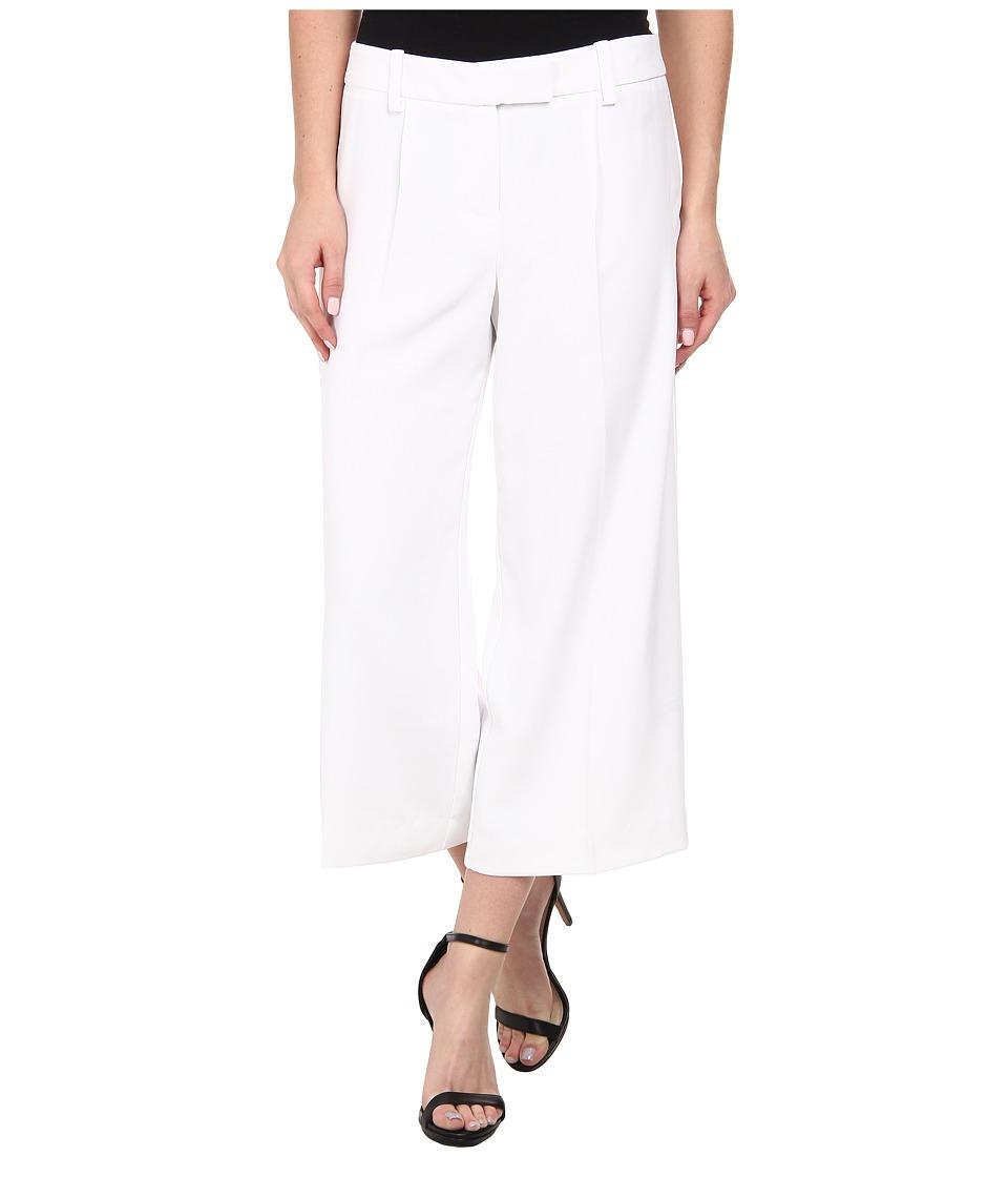 Trina Turk - Ciana 2 Gaucho Pant (White) Women's Casual Pants
