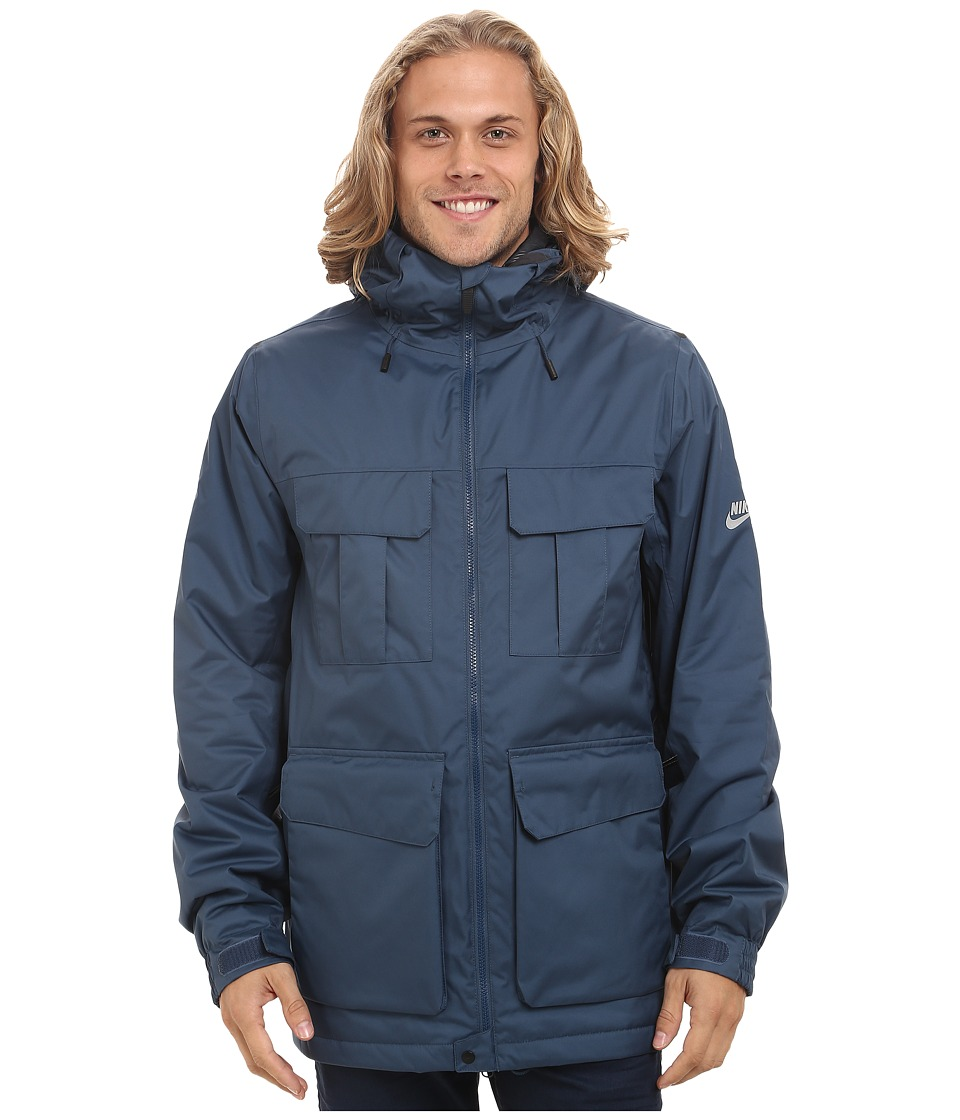 Nike SB - SB Empire Jacket (Squadron Blue/Anthracite/Silver) Men's Coat