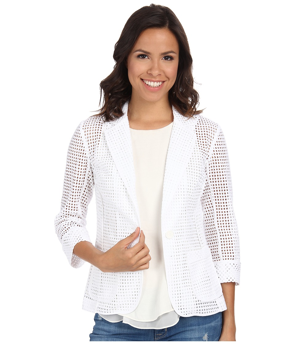 Trina Turk - Alvah Jacket (White) Women's Coat