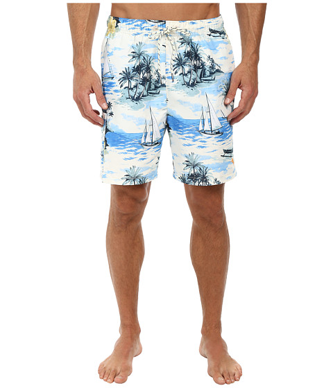 Tommy Bahama - Naples Sails Call 6 Volley Swim Trunks (Bright Cobalt) Men's Clothing
