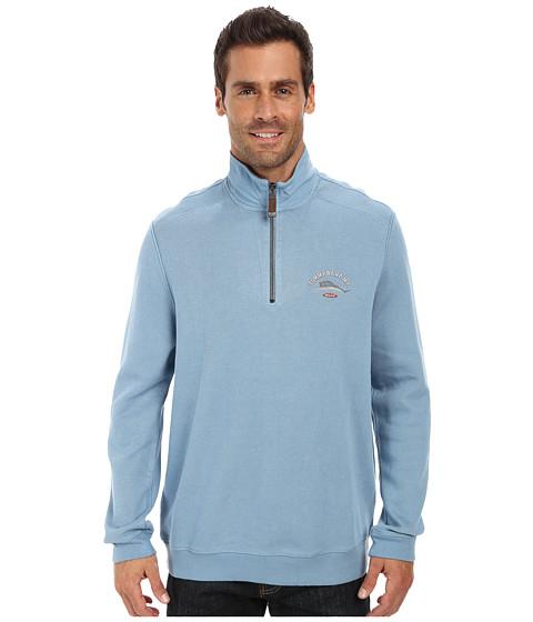 Tommy Bahama - Aruba Half Zip Sweatshirt (Agava) Men's Sweatshirt