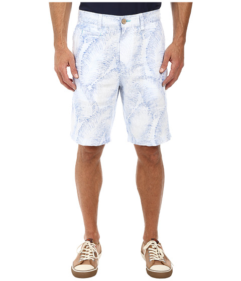 Tommy Bahama - Hanalei Sands 10 Linen Shorts (Chambray Blue) Men