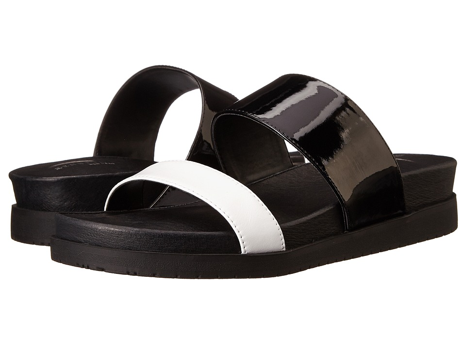 Kenneth Cole New York - Jullian (Black/White) Women's Sandals