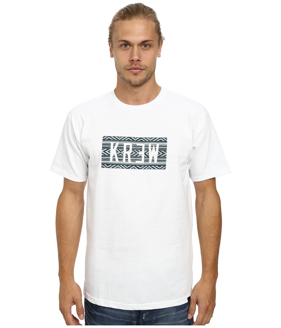 KR3W - Mantilla Tee (White) Men's T Shirt