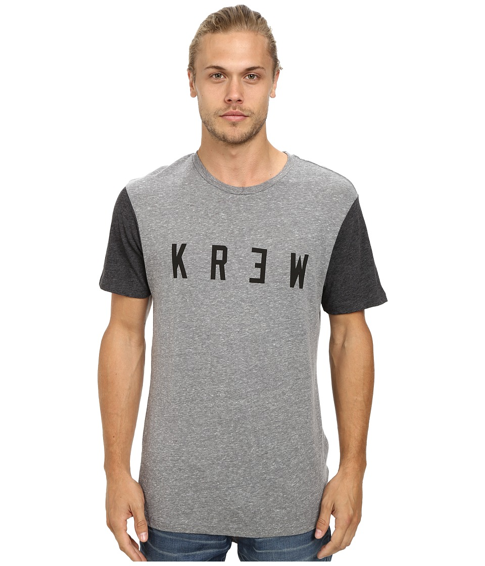 KR3W - Locker Block Tee (Grey Heather) Men