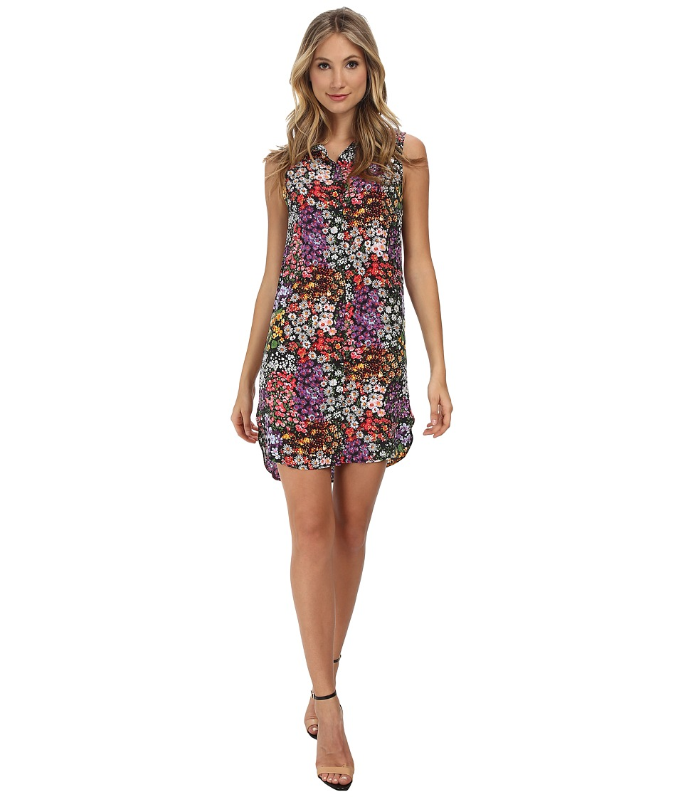 EQUIPMENT - Michaela Floral Print Dress (Bloom Multi) Women's Dress