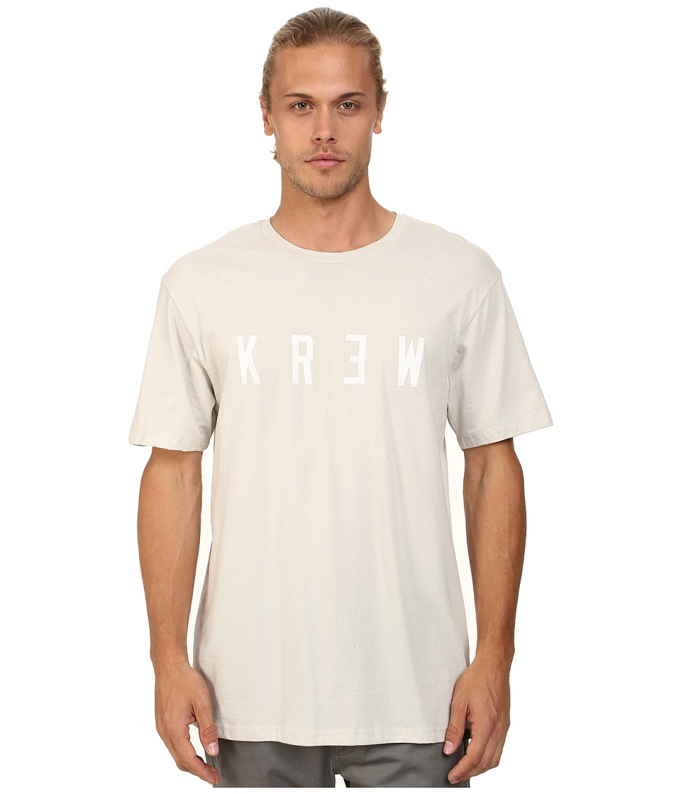 KR3W - Locker Premium Tee (Eggshell/White) Men's Short Sleeve Pullover