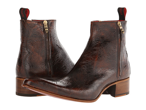 Jeffery-West - Satanico (Brown) Men's Zip Boots