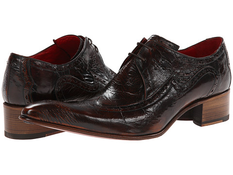 Jeffery-West - Port (Brown) Men's Shoes