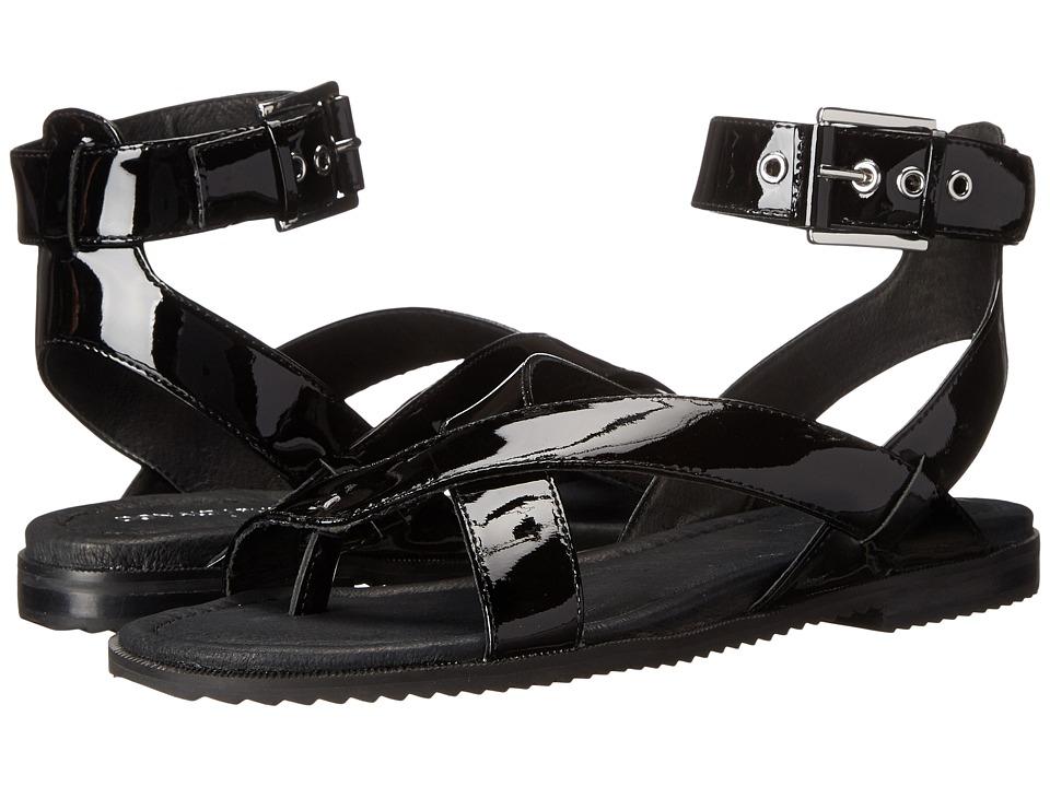 Donald J Pliner - Lyla (Black Patent) Women's Sandals