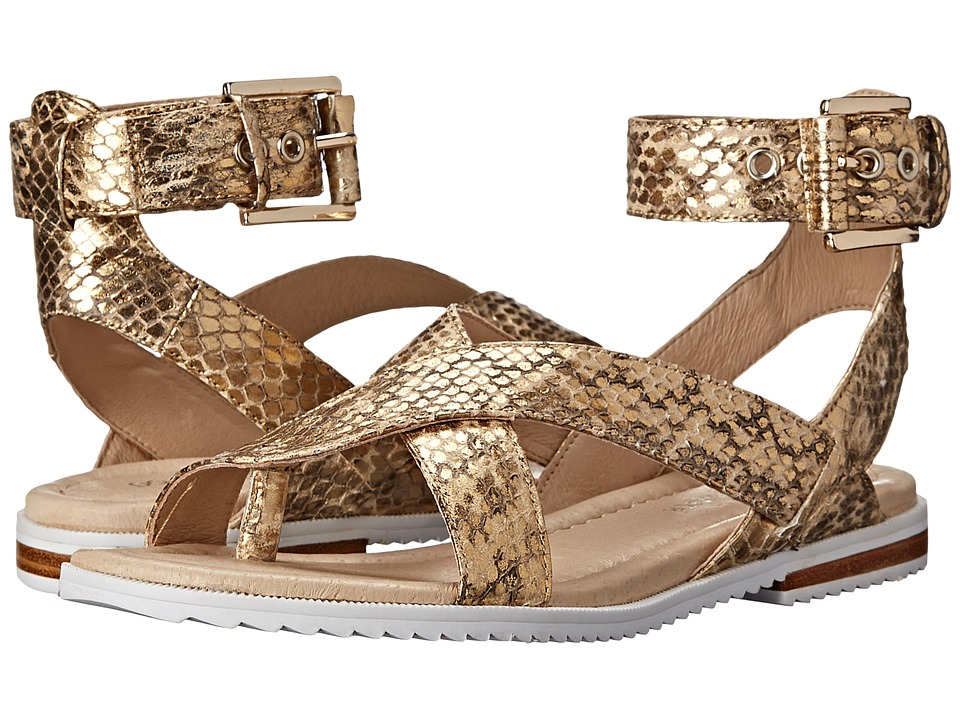 Donald J Pliner - Lyla (Natural Desert Snake Print) Women's Sandals