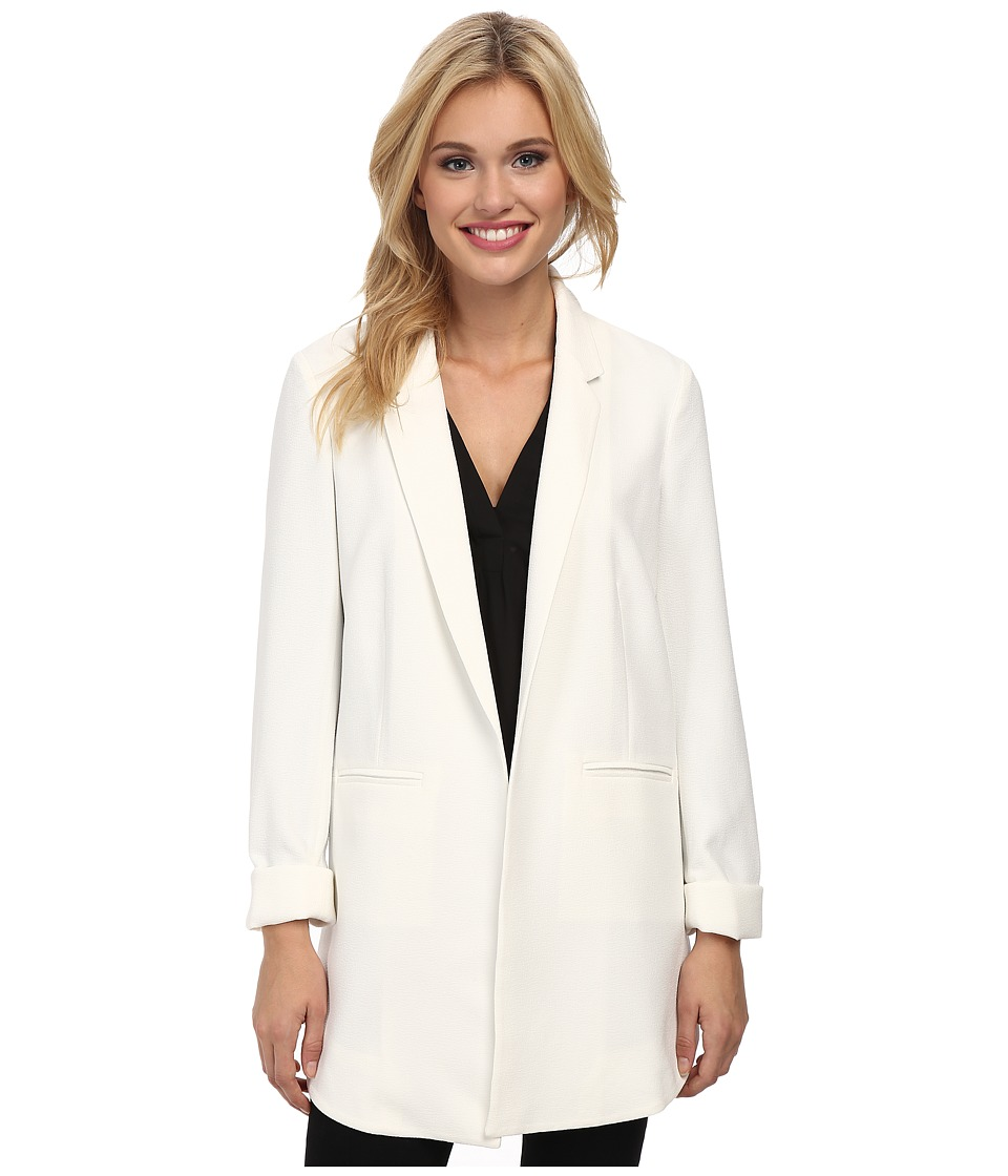 Sam Edelman - Cross Back Blazer (Ivory) Women's Jacket