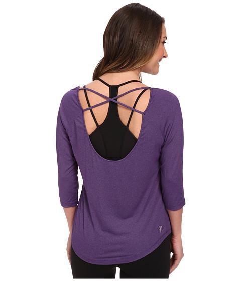 COZY ORANGE - Rue Top (Majestic Purple) Women's Long Sleeve Pullover