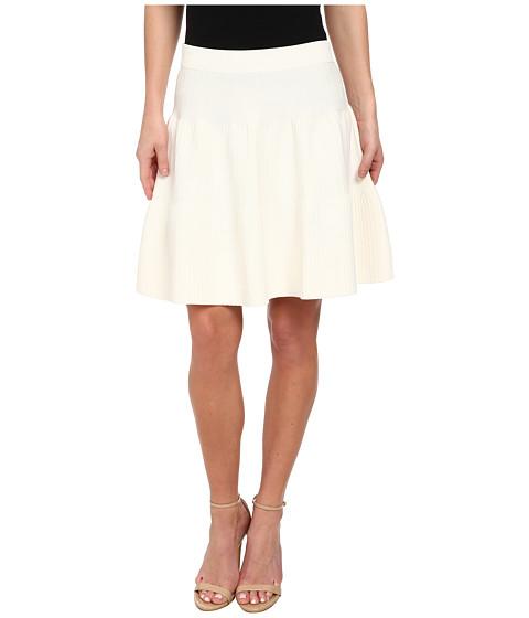 Sam Edelman - Ottoman Flare Skirt (White) Women's Skirt