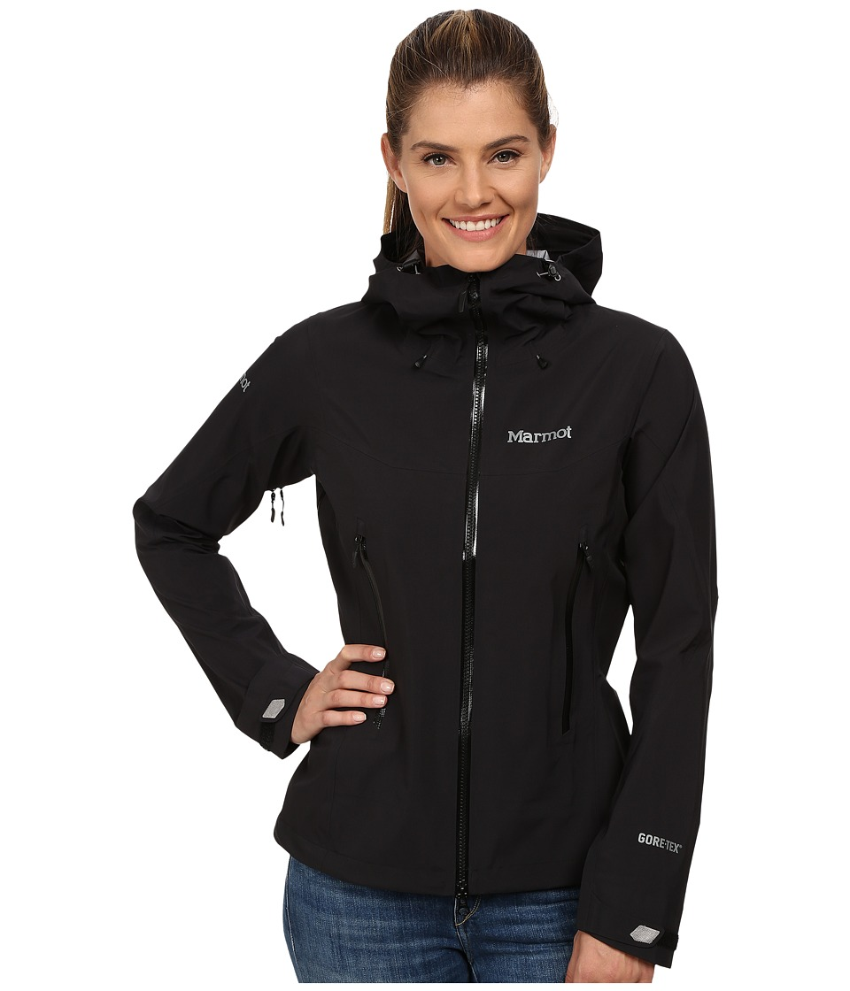 Marmot - Cerro Torre Jacket (Black) Women's Coat