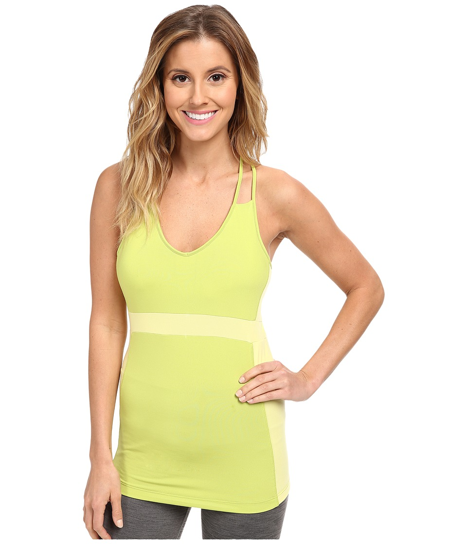 COZY ORANGE - Piper Tank (Lemon Slice/Chartreuse) Women's Sleeveless