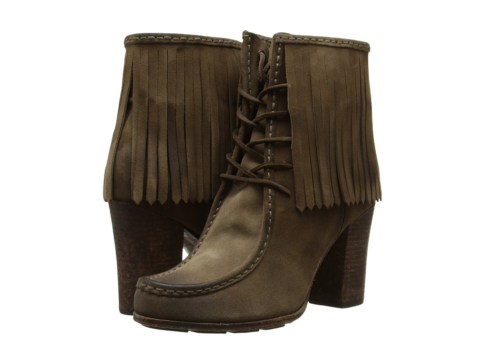 Frye Parker Fringe Short (Grey) Women