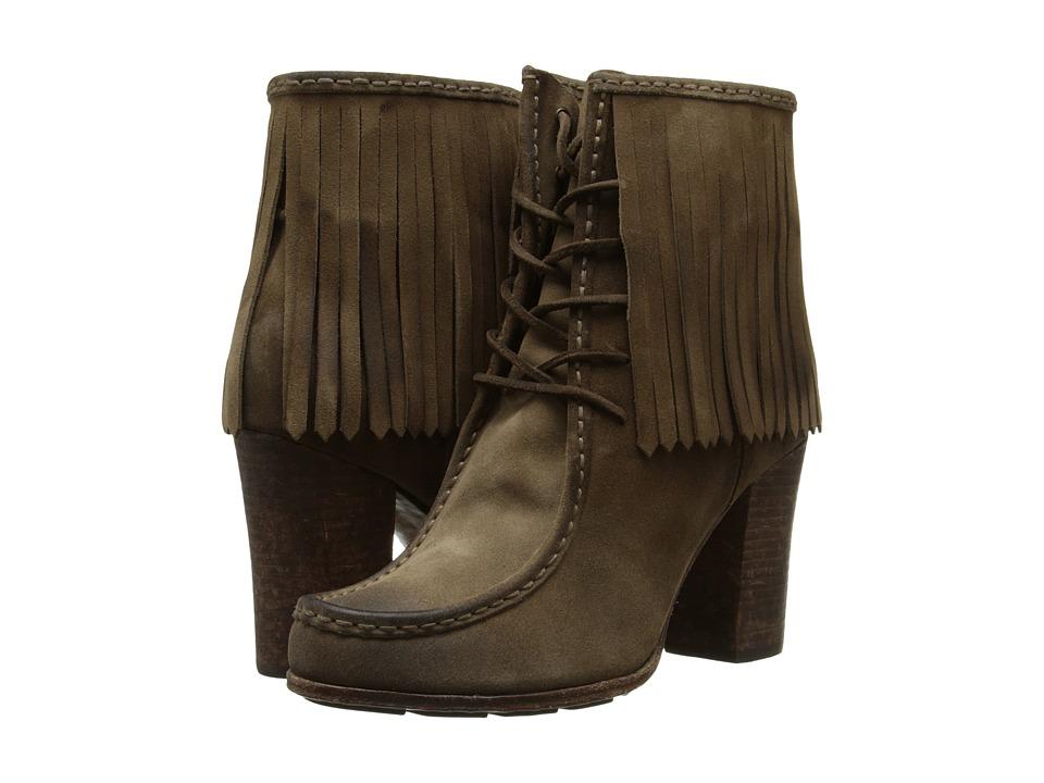 Frye - Parker Fringe Short (Grey) Women's Boots