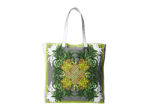 Echo Design - Pineapple Seychelles Tote (Silver) Tote Handbags