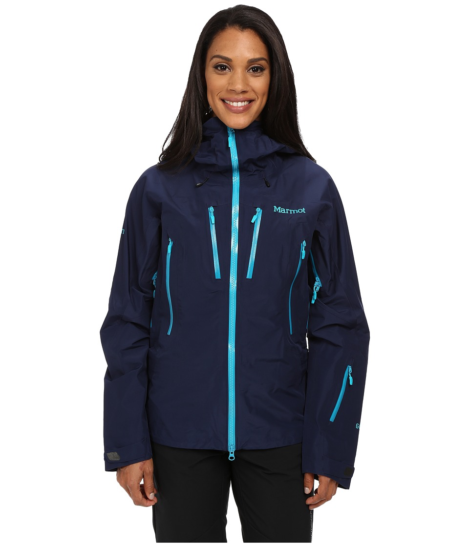 Marmot - Alpinist Jacket (Arctic Navy) Women's Clothing
