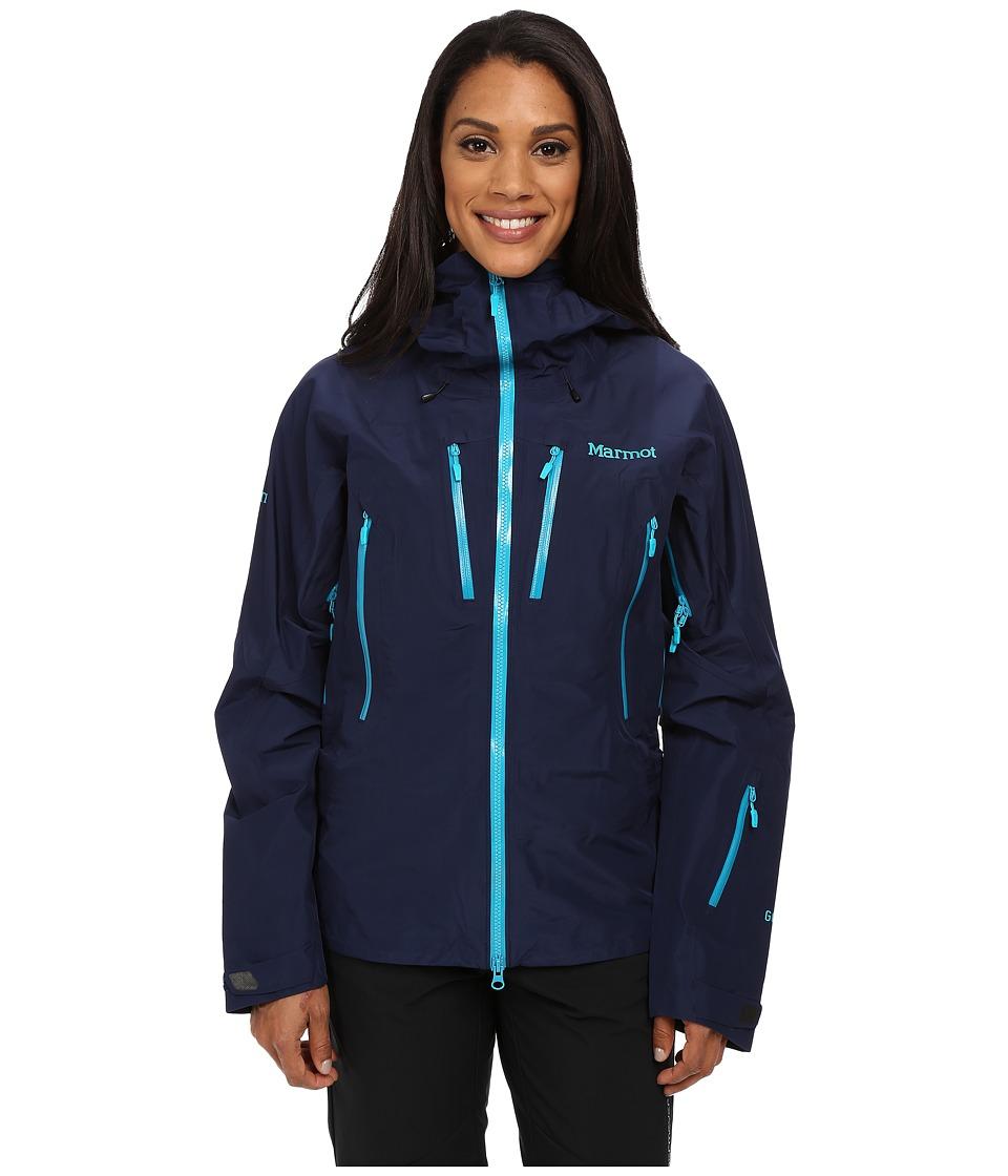 Marmot - Alpinist Jacket (Arctic Navy) Women's Clothing