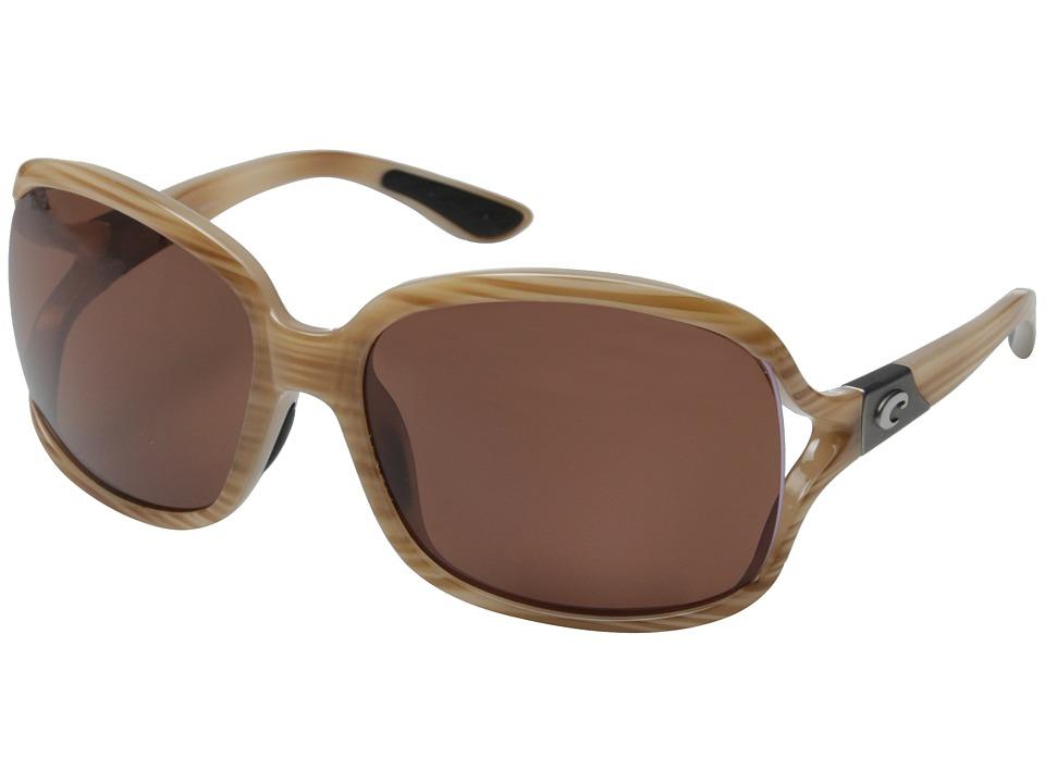 Costa - Costa Boga 580 Plastic (Morena/Copper 580P Lens) Fashion Sunglasses