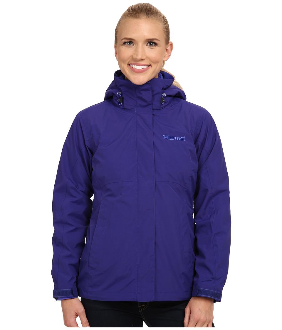 Marmot - Cosset Component Jacket (Midnight Purple) Women's Coat