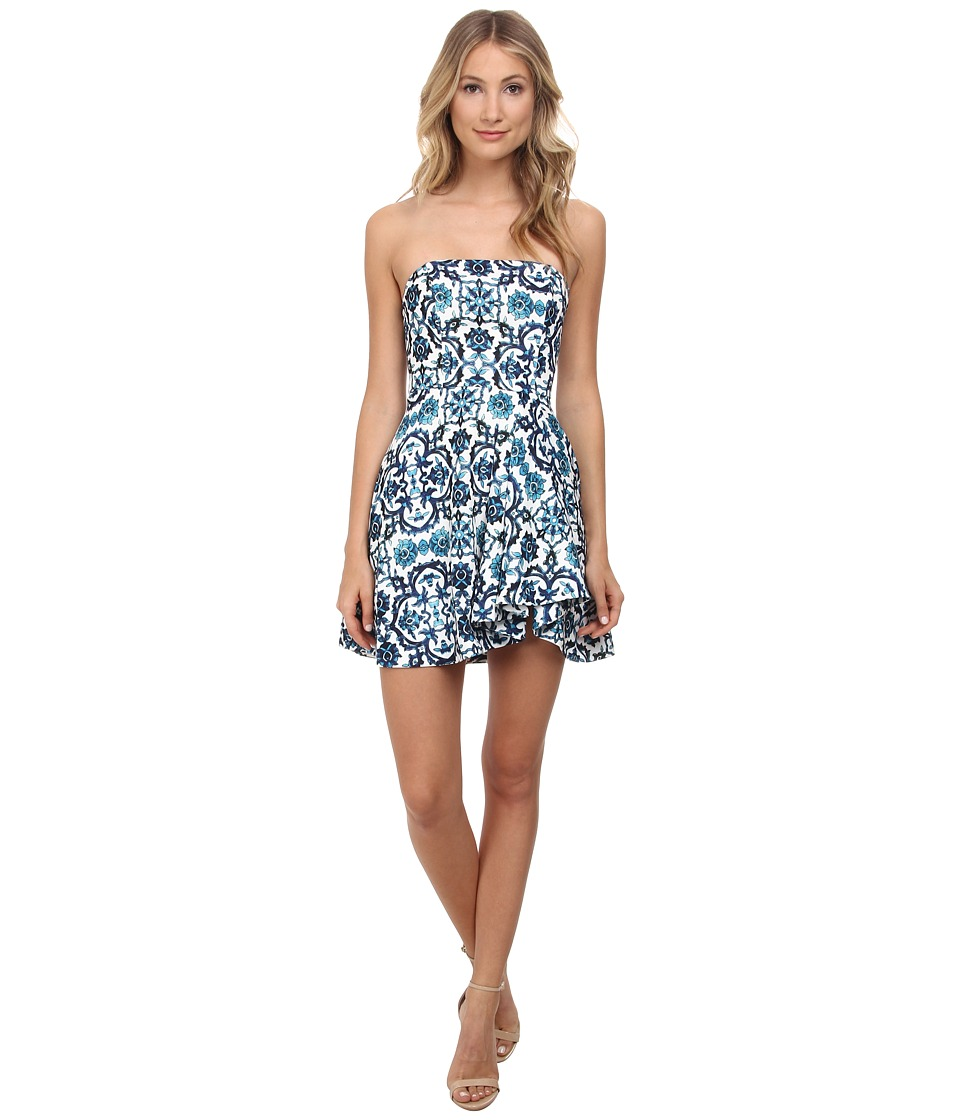 StyleStalker - Secrets Dress (Ming Print) Women's Dress