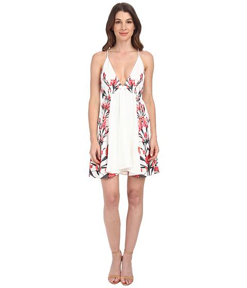 StyleStalker - Auspicious Plunge Dress (Floral) Women