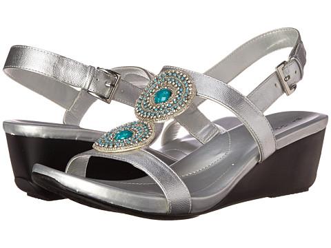 Bandolino - Heelda (Silver Synthetic) Women's Shoes