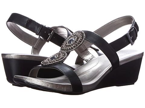 Bandolino - Heelda (Black Synthetic) Women's Shoes
