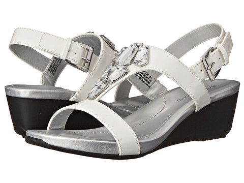 Bandolino - Hopton (White Synthetic) Women's Shoes