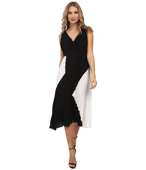 Sam Edelman - Pleated Dress (Black) Women's Dress