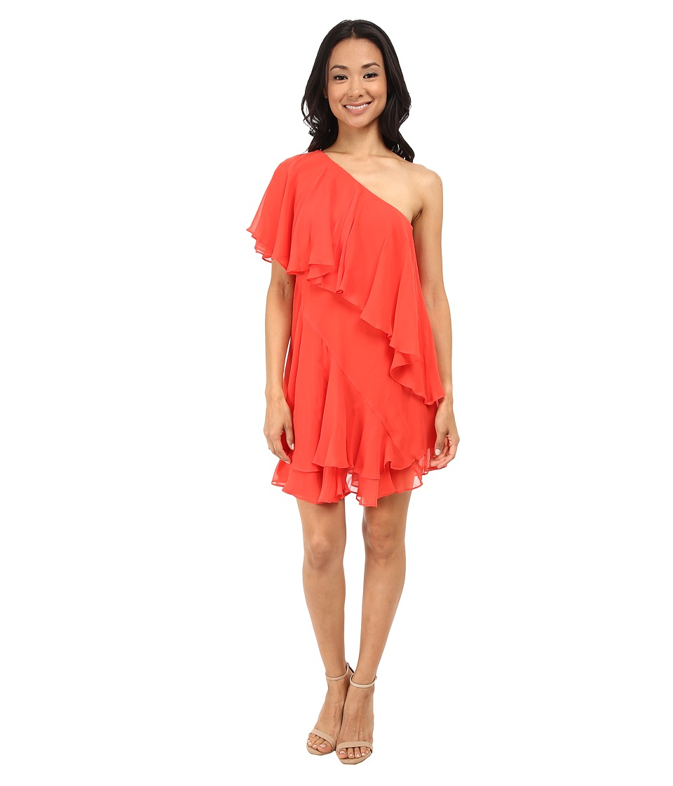 Rachel Zoe - Brunelle Dress (Red Orange) Women's Dress