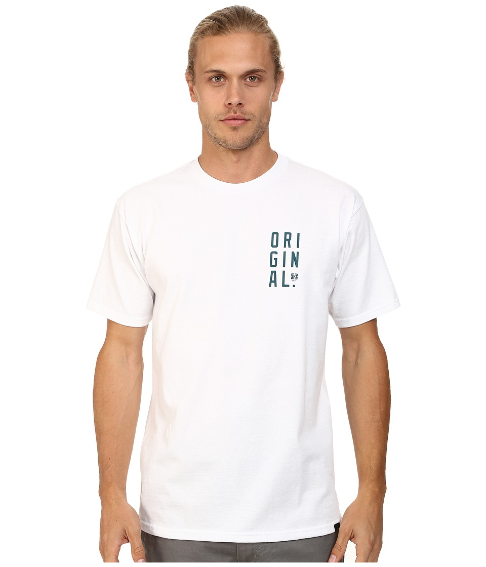 KR3W - Original Block Tee (White) Men's T Shirt