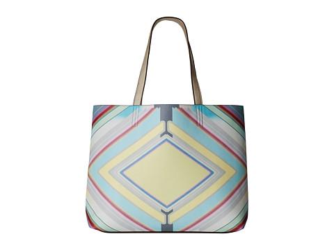 Echo Design - Diamond Deco Reversible Essex and Pouch (Multi/Silver) Tote Handbags