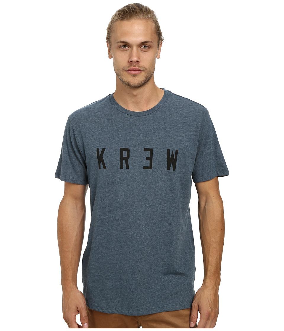 KR3W - Locker Premium Tee (Dark Teal/Black) Men's Short Sleeve Pullover