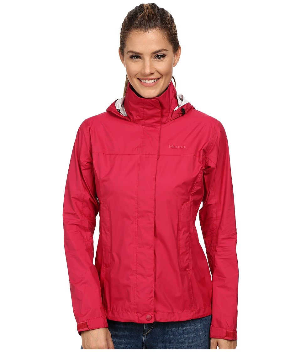 Marmot - PreCip Jacket (Dark Raspberry) Women's Jacket