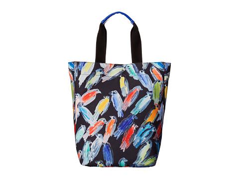Echo Design - Finches Tote (Black) Tote Handbags