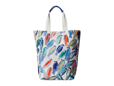 Echo Design - Finches Tote (White) Tote Handbags